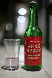 Een veilige fles Arak uit de supermarkt.