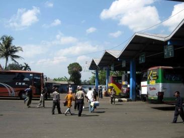 Bus Terminal Tawangalun in Jember
