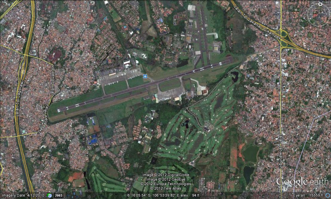 Vliegveld Halim Perdanakusuma (Jakarta) weer open
