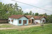 Traditionele huisjes op Java