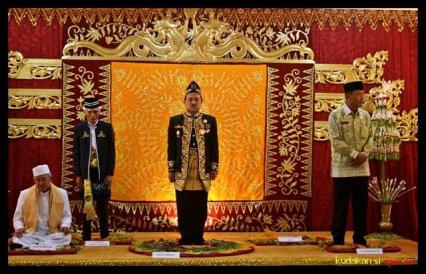 Pangeran H. Khairul Saleh, Sultan Kerajaan Banjar. Kalimantan