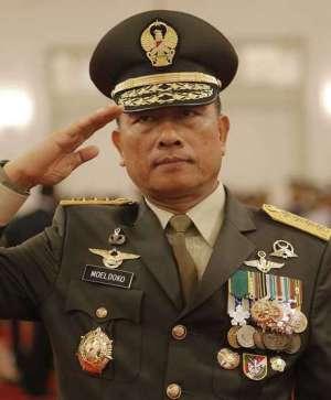 Generaal moeldoko, baas van het leger, TNI