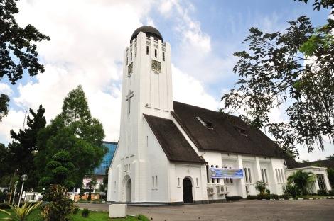 Immanuel Kerk te Medan, Sumatera.