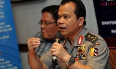 Insp. Gen. Ronny. F. Sompie, woordvoerder Politie Indonesia.