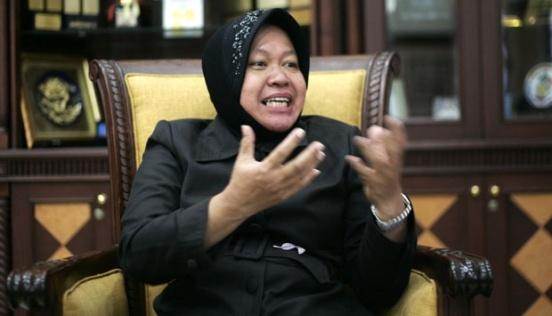 mevr. Rismaharini, Burgemeester van Surabaya