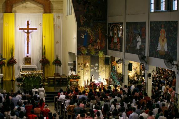 .kerk - Gereja Santo Antonius Kotabaru, DI Yogyakarta.