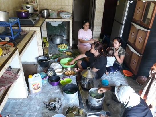 Werk in de keuken