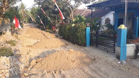 1 desa , zandhopen voor mijn huis